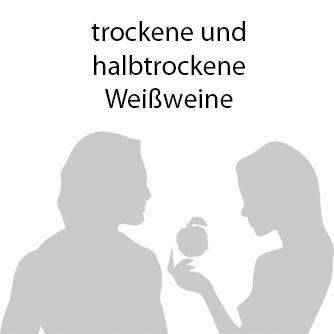 trockene & halbtrockene Weissweine
